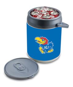 Take a look at this Kansas Can Cooler by Tailgate Essentials Collection on #zulily today!