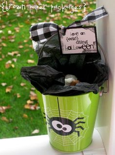 cute halloween gift idea + printable