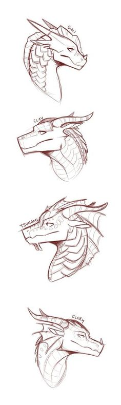 some of my favourite dragons by SylvernStreak