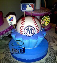 Torta de #Beisbol