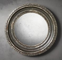 restoration hardware mirror (yeah if i ever had the money i would furnish most of my house with their stuff)