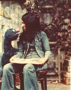 Buffy Sainte Marie (Sesame Street)  #dreamindenim