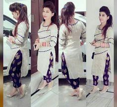 Do you need the best quality Latest Elegant Punjabi Suit plus Latest Elegant ladies Salwar suits in which case Click above VISIT link for Patiala Suit Designs, Kurta Designs Women, Kurti Designs Party Wear, Blouse Designs, Punjabi Dress, Punjabi Suits, Pakistani Dresses, Indian Dresses, Salwar Suits