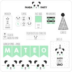 Nina Designs + Parties — PANDA PARTY