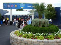 South entrance Cincy Open Tennis Players, Entrance, Plants, Entryway, Flora, Doorway, Plant