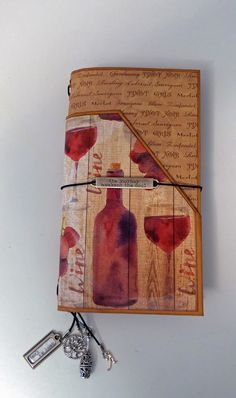 Traveler's Notebook Journal created by crafter Debbie Klassen Lamboo using, Reminisce-The Winery Collection, Moxxie-Winery Collection, Paper House Productions-Wine Country Collection paper collections.   Click on the link below to purchase the tutorial: http://shop.paperphenomenon.com/Travelers-Notebook-Journal-Set-Tutorial-tut0106.htm?categoryId=-1  Click on the link below to purchase the tutorial/video combo…