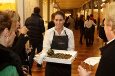 Melbourne Arts Fair, cocktail party, #RoyalExhibitionBuilding, catering by Bay Leaf Catering