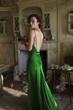 That dress from Atonement (2007), designed by Jacqueline Durran.