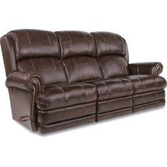 La-Z-Boy Kirkwood Reclina-Way Full Reclining Leather Sofa