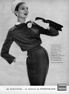 Forstmann 1957 – Suzy Parker