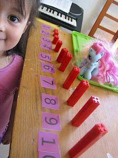 math fun! Preschool At Home, Kindergarten Activities, Fun Math, Preschool Activities, Math Stations, Math Centers, Learning Through Play, Kids Learning, Legos