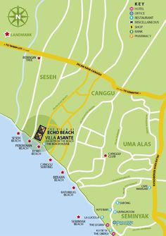 Canggu map