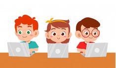 Felices los niños lindos niño y niña usa. Office Graphics, Children's Book Characters, Kids Class, School Kids, Cartoon Pics, Childhood Education, Software Development, Kids Boys, Kids Learning