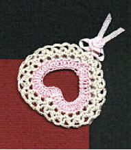 Heart Corner Bookmark Crochet Pattern