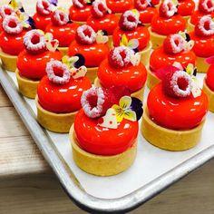 Lemon raspberry Tart @stregisbalharbour #bachour #bachoursimplybeautiful | by Pastry Chef Antonio Bachour