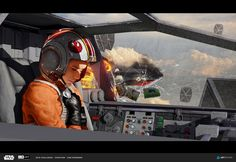 ILM Art Department Challenge 2016 by Sam Denmark on ArtStation. Star Wars Droids, Star Wars Rpg, Star Wars Ships, Star Wars Rebels, Star Trek, Obi Wan, Tableau Star Wars, Starwars, Aliens
