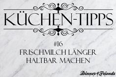 Küchentipp #16: Frischmilch länger haltbar machen