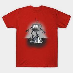 Jumping The Shark - Mens T-Shirt