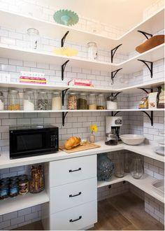 Des étagères malines dans la cuisine! 15 idées inspirantes…