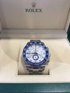 2016 Rolex Yacht-Master II 116680 Stainless Steel 44MM Case