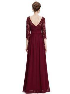 CELIA Dress - Burgundy Wine - Belle Boutique UK