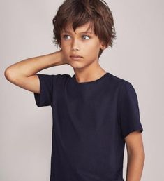 Boys' underwear and pyjamas for SS 2019 from Massimo Dutti. Feel the quality and elegance in plain or printed T-shirts, boxers, briefs and socks for boys. Boys Long Hairstyles Kids, Boy Haircuts Long, Toddler Boy Haircuts, Teenage Hairstyles, Boy Hairstyles, Trendy Haircuts, Formal Hairstyles, Modern Haircuts, Boys Long Hair Cuts