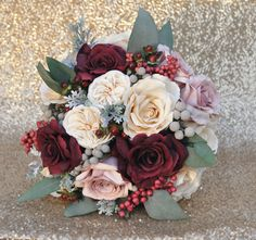 Wedding Flowers shipping worldwide by Holly's Flower Shoppe on Etsy. Holly's Wedding Flowers.