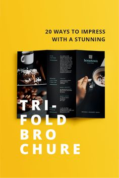 Design trifold brochures that get your business noticed [free templates]
