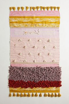All Roads Texture-Striped Flatweave Rug | Anthropologie