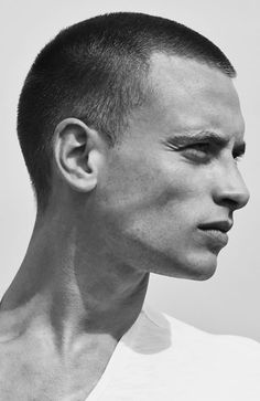 Men's Hairstyles Buzz cut. Photo: Selected Homme. #menshairstyles #menshair #buzzcut #shorthair
