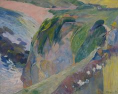 Paul Gauguin 1889 The flageolet player on the cliff 1c uhr - Indianapolis MA - GAP (by petrus.agricola)