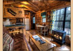 Welcome to The Log Cabin . Hidden Creek Cabin - Bryson City NC