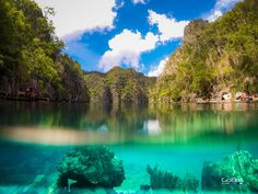 Philippines · Kayangan Lake ================================ #clear #Coron #diving #lake #Palawan #rafting #snorkeling #swimming #water #KayanganLake #Philippines #sceneries #amazingplace #beautifulplace #amazingplaces #beautifulplaces #scenery #world #travel #nature #landscape #traveling #travelling #travelphotography #naturephotography #photography #follow