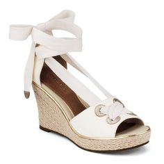 Women's Palm Beach Wedge Sandal by Sperry.  Adorable!