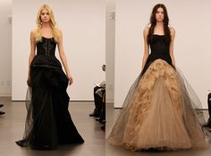 Vera Wang's Witchcraft Collection.... Um hello wedding dress! The one on the right