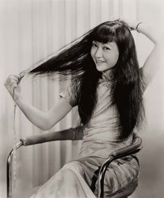 """Chinese actresses in Hollywood are """"angels"""" or """"demons""""? Starting from Anna May Wong, Chinese actresses have never stopped their feet in Hollywood… Donate Your Hair, Donating Hair, Asian Hair Salon, Hollywood Stars, Asian American Actresses, Anna May, Non Blondes, Hair Romance, Chinese Actress"""