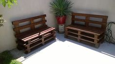 #mnvcreations #palletbenches