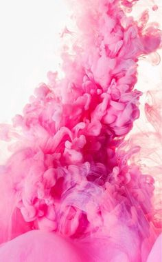 pink, smoke, and wallpaper image