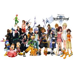 Kingdom hearts...Wheres Jack Skeleton? or Ariel? or Alice? missing some people there hehe