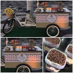 Ateliê Flora Design Gráfico: Identidade Visual para Food Bike da Doce Sabor Con...