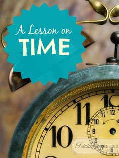 Time is a tool in God's hand that is used to reveal what is really in my heart. @Tricia Goyer
