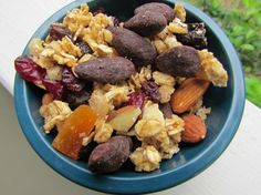 Trail mix is easy to make & a great snack.  You should make some!  Here are two recipes to get you started.