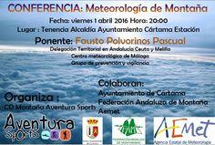 Conferencia sobre la meteorología en la montaña – Quemando Botas