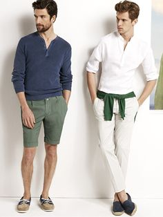 Light Summer Fashions: Mathias Lauridsen + Cedric Bihr Reunite with H.E. by Mango image