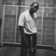 "Photo Promo for Kendrick Lamar's ""Damn Tour."" Kendrick is not very social media relevant but his presence is strong within the Hip-Hop music community. Lary Over, Kendrick Lamar Music Video, King Kendrick, Kung Fu Kenny, Music Aesthetic, American Rappers, Funny Movies, Jim Morrison, Fleetwood Mac"