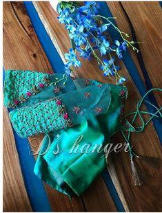 Saree Jacket Designs, Cutwork Blouse Designs, Kids Blouse Designs, Embroidery Neck Designs, Bridal Blouse Designs, Blouse Neck Designs, Blouse Patterns, Hand Embroidery, Lehenga Designs