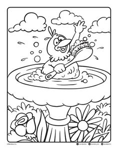 Follow the link below to download this coloring page! http://www.bendonpub.com/upload/coloring-pages/april-2015-bird.pdf