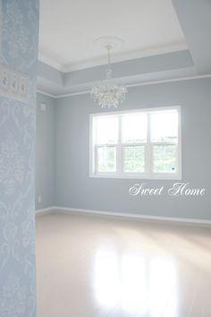 壁紙 one eye makeup - Eye Makeup Blue Room Decor, Blue Rooms, Living Room Decor, Simple Interior, Diy Interior, Interior Design, Bedroom Paint Colors, Cozy House, Home Bedroom