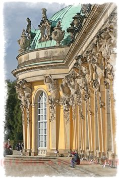 Baroque Architecture Germany Staircase Of Schloss