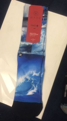 Stance Wade Artist Series Sock Crash Sm/Med  (6-8.5) $16 NWT #Stance #Socks